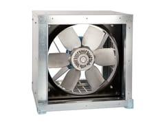 S & P Italia, CGT Cassa di ventilazione elicoidale con pale regolabili