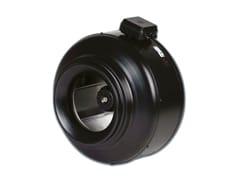 Ventilatore centrifugo in linea per condotti circolari VENT -