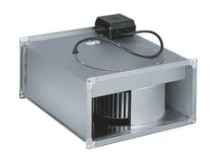 Ventilatore centrifugo in linea per canali rettangolari ILB/ILT -