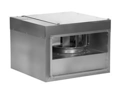 Ventilatore centrifugo in linea per canali rettangolari IRAB/IRAT -
