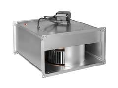 Ventilatori centrifughi in linea per canali rettangolariILT ATEX - S & P ITALIA