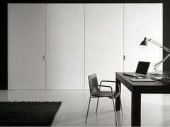 PARETE MOBILE A LIBRO IN LEGNOANTHEA | PARETE MOBILE IN LEGNO - BOFFI
