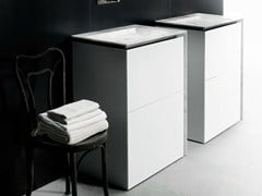 Mobile lavabo singolo con cassetti B15 | Mobile lavabo -