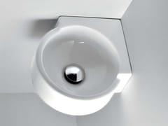 Lavamani angolare sospeso MINI TWIN | Lavamani angolare - Twin