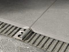 Giunto per pavimento in acciaio satinato PROTERMINAL | Giunto per pavimento in acciaio satinato -