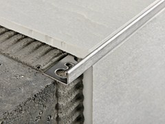 Profilo paragradino in acciaio satinato PROTERMINAL | Profilo paragradino in acciaio satinato -