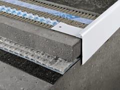 PROGRESS PROFILES, PROTERRACE PCJ Profilo e scossalina per impermeabilizzazione in alluminio