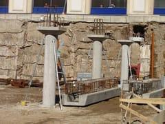 Trave e pilastro a struttura mista acciaio-calcestruzzoPilastro - APE