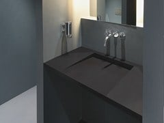 LAVABO SOSPESO IN SOLID SURFACE GETACORE® | LAVABO - GETACORE® BY WESTAG & GETALIT