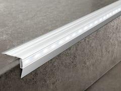 Profilo paragradino in alluminio con LEDPROSTAIR LED - PROGRESS PROFILES