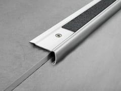 PROGRESS PROFILES, PROSTYLE GRIP ACC Profilo paragradino in acciaio satinato