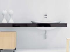 Piano lavabo doppio IO | Piano lavabo doppio - Io