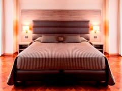 Letto imbottito matrimoniale per hotel ZEUS | Letto imbottito - Zeus
