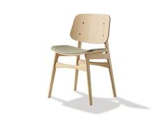 Sedia in legno con cuscino integrato SØBORG | Sedia con cuscino integrato - Søborg