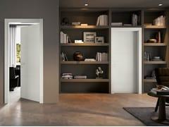 Porta a battente laccata in legno massello GABILIA | Porta laccata - Moderno