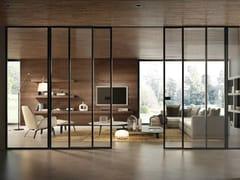 Porta scorrevole in vetro BISYSTEM | Porta scorrevole - Design