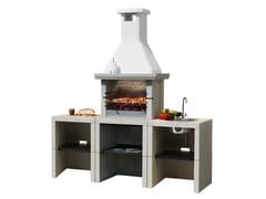 Cucina da esterno a gas con barbecueMELODY 3 Young - MCZ GROUP