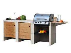 Cucina da esterno con grillMELODY 3 Grill - MCZ GROUP