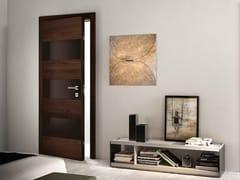 Porta d'ingresso blindata in wengè BISYSTEM | Porta d'ingresso blindata - Design