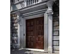 Porta d'ingresso blindata in castagno SOVRANA | Porta d'ingresso -