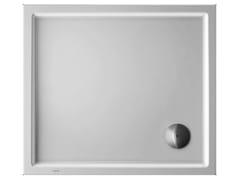 Piatto doccia rettangolare in acrilico STARCK | 90 x 80 - Starck