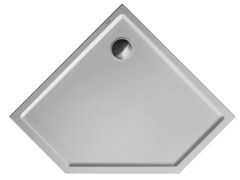Piatto doccia in acrilico STARCK | 90 x 90 - Starck