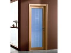Porta a battente in vetro colorato GENIA | Porta in vetro colorato - Neo-Classico