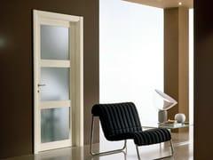 Porta a battente in vetro satinato GENIA | Porta in vetro satinato - Neo-Classico