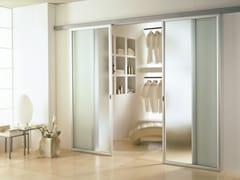 Porta scorrevole in vetro satinato ANTHA | Porta scorrevole - Moderno