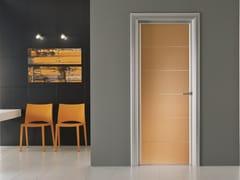 Porta a battente in vetro colorato ANTHA | Porta in vetro colorato - Moderno