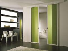 Porta scorrevole in vetro colorato ANTHA | Porta in vetro colorato - Moderno