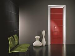 Porta a battente laccata in laminato ANTHA | Porta laccata - Moderno