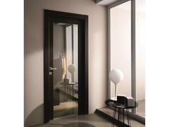 Porta a battente in vetro a specchio STILIA | Porta in vetro a specchio - Moderno