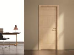 Porta a battente in laminato STILIA | Porta in rovere - Moderno