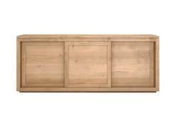 Madia in legno massello con ante scorrevoli OAK PURE | Madia in legno massello - Oak Pure