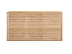 Madia in legno con ante a battente OAK SHADOW | Madia in legno - Oak Shadow
