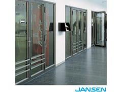 Sistema di chiusure resistenti al fuoco JANSEN FIRE -