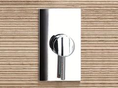 Miscelatore per doccia monocomando con piastra CAFÈ | Miscelatore per doccia con piastra - Cafè