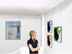 Espositore da soffitto in alluminio Espositore da soffitto -