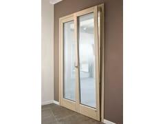 Porta-finestra ad anta-ribalta in frassinoALASKA | Porta-finestra ad anta-ribalta - BG LEGNO