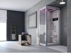 Jacuzzi®, FRAME 120 Box doccia multifunzione con bagno turco