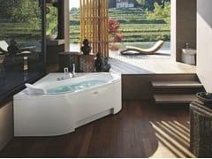 Vasca da bagno angolare idromassaggioJ-SHA MI CORNER - JACUZZI® EUROPE