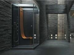 Jacuzzi®, ΩMEGA Box doccia multifunzione rettangolare con bagno turco