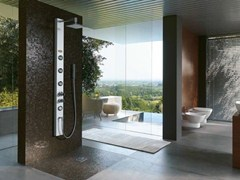 Colonna doccia con idromassaggio con soffione ES -