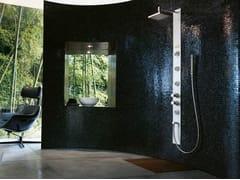 Colonna doccia multifunzione con doccetta con idromassaggio ES BUILT-IN -