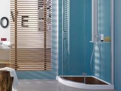 Piatto doccia angolare in acrilico START! 90 | Piatto doccia angolare - Start!