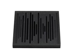 Pannello decorativo acustico in EPS WAVEWOOD DIFFUSER - Wavewood