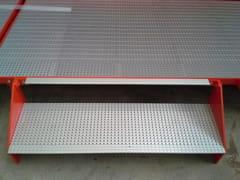 Sistema modulare per palco e tribuna in metalloSistema modulare per palco e tribuna in metallo - ALUSCALAE