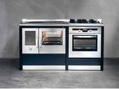 Cucina a libera installazione RUSTICA 100 l - Corradi Cucine