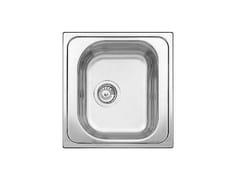 Lavello a una vasca da incasso in acciaio inox BLANCO TIPO 45 - Blanco Tipo